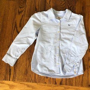 Girls Size 10 Vineyard Vines oxford shirt